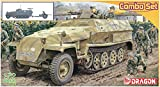 ドラゴン 1/72 第二次世界大戦 ドイツ軍 Sd.KfZ.251Ausf.C & 3.7cm対戦車砲Pak35/36 プラモデル DR7611