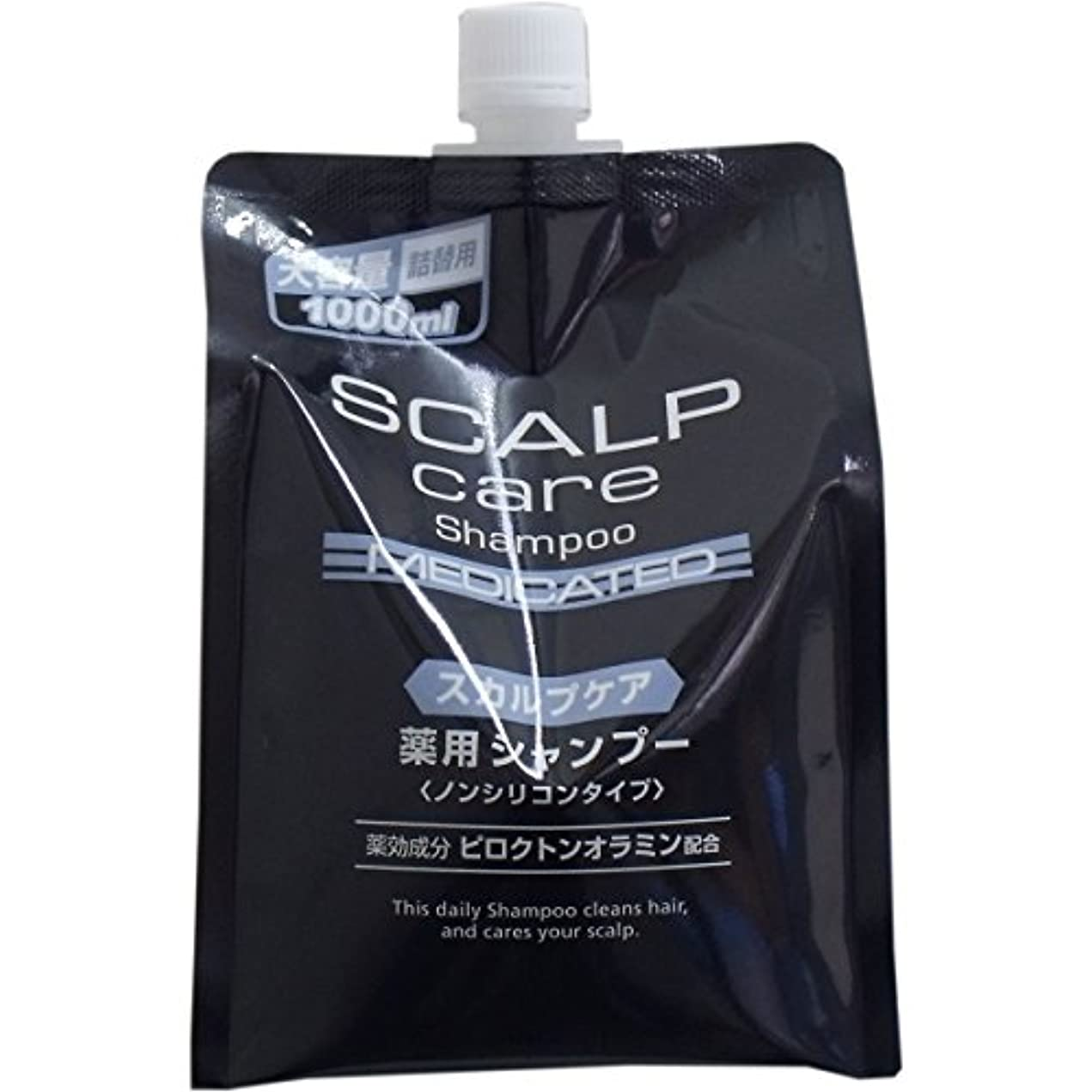 ピース薬品 スカルプシャンプー 大容量詰替用 1000ml