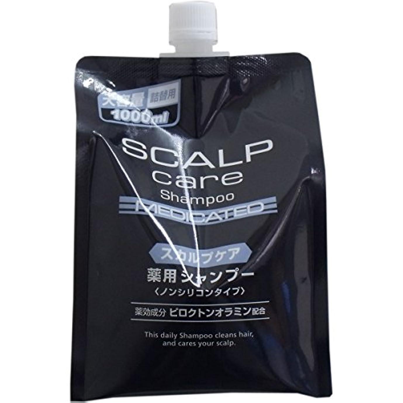 増加する親愛なスリチンモイピース薬品 スカルプシャンプー 大容量詰替用 1000ml