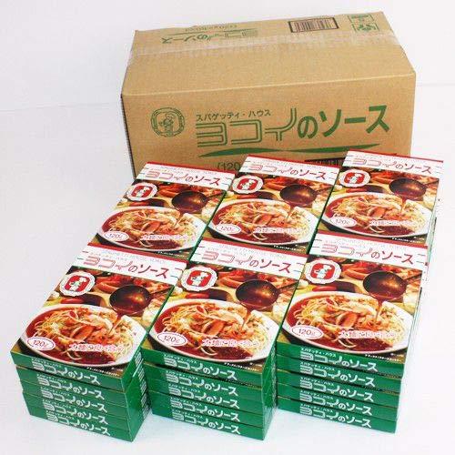 「名古屋名物」スパゲッティ・ハウス ヨコイのソース(1ケース、1人分120g×30)