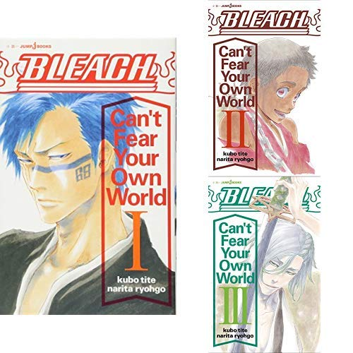 BLEACH Can't Fear Your Own World 全3巻 新品セット (クーポン「BOOKSET」入力で+3%ポイント)