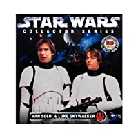 Star Wars Han Solo and Luke Skywalker in Stormtrooper Gear Limited Edition Collector Series Action Figures Set