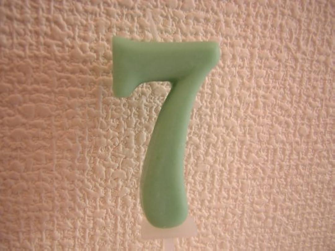 構造的つぶすさまよう[Kameyama]ナンバーキャンドル 7