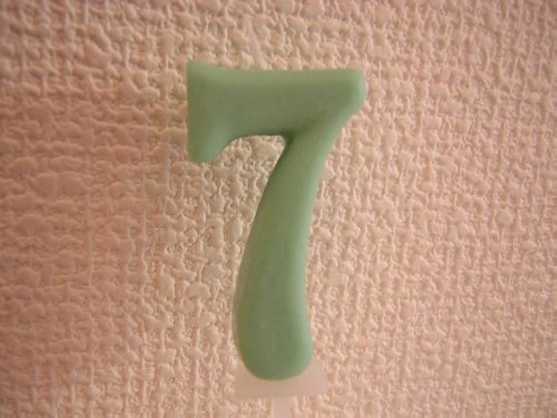 モードリン認可オフセット[Kameyama]ナンバーキャンドル 7