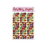 Bulk buys Home Decorative Scrapbook Girls Rule Fun stickers pack of 12 by bulk buys [並行輸入品]