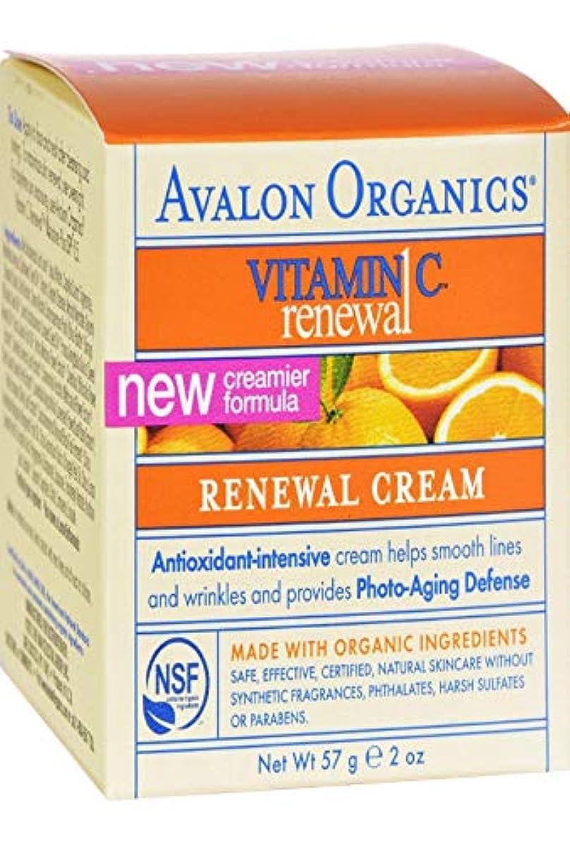 割り当てる凍結トピックアバロンオーガニック ビタミンC リニューアルフェイシャルクリーム 56ml [並行輸入品]
