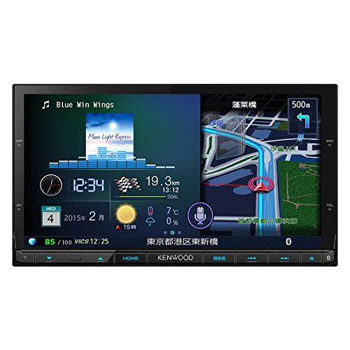 [해외]켄우드 (KENWOOD) 네비게이션 彩速 나비 MDV-X702/Kenwood (KENWOOD) car navigation color satellite navigation MDV-X702