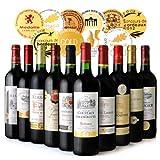 ◆【第4弾】ボルドー満喫!金賞10本赤ワインセット(750ml×10本)[T]