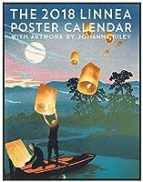Linnea Design 2018 Poster Calendar Art By Johanna Riley 【Creative Arts】 [並行輸入品]
