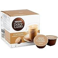 Nescafe Dolce Gusto Cortado Espresso Macchiato Pods 16 per pack - (Dolce Gusto) パックあたりネスカフェコルタードエスプレッソマキアートポッド16 [並行輸入品]