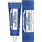 ドクターブロナー オールワン トゥースペースト(美白歯磨き粉) 140g 無添加?オーガニック、ココナッツオイル配合 Dr.Bronner's All-One Toothpaste 140g