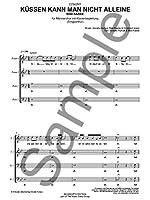 Max Raabe: Kussen Kann Man Nicht Alleine (TTBB Vocal Score)
