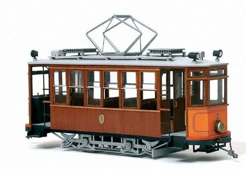 路面電車 ソーイェル(木製模型キット)和訳付き
