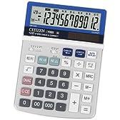 シチズン デスクトップ型電卓(12桁表示) DM1240