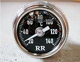 RR社 油温計/オイルテンプメーター SR400 SR500 XT500用 黒/034