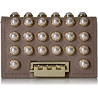 ZAC Zac Posen Earthette Card Case with Chain-Pearl Lady