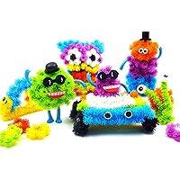 300個アクセサリーを構築メガパック動物アクセサリーDIY Assemblingブロック玩具セットマジックPuffer Ball for Kid