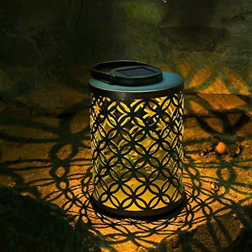 Tomshine ソーラーライト led ランタン ランプ 复古スタイル 防水 無線 防犯 ガーデン テラス ベランダ 車道 歩道 屋外 屋内 照明用 (古代コイン形)