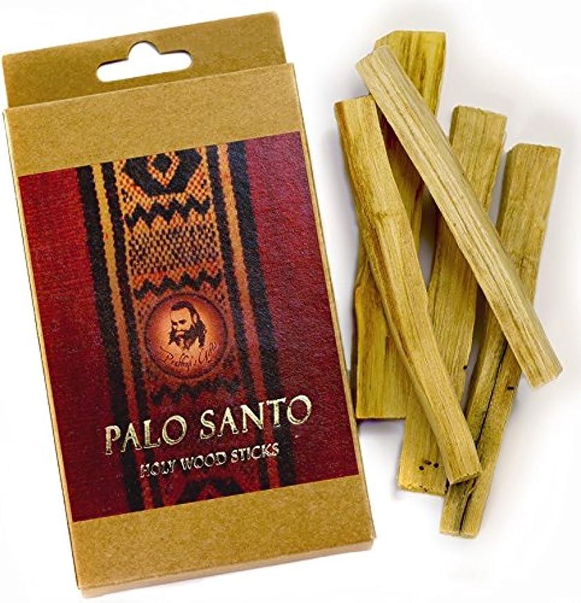 決定軍艦たらいPalo Santo Raw Incense木製 – 標準 – 5 Sticks