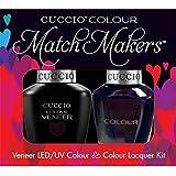 Cuccio MatchMakers Veneer & Lacquer - Dancing Queen - 0.43oz / 13ml Each