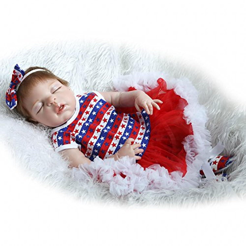 rayish Rebornベビー人形ソフトSilicone 22インチ55 cm磁気Lovely LifelikeかわいいLovely Baby