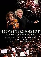 ジルヴェスターコンサート 2015 (Silvesterkonzert | New Year's Eve Concert 2015 / Berliner Philharmoniker | Sir Simon Rattle | Anne-Sophie Mutter) [DVD] [輸入盤] [日本語帯・解説付]
