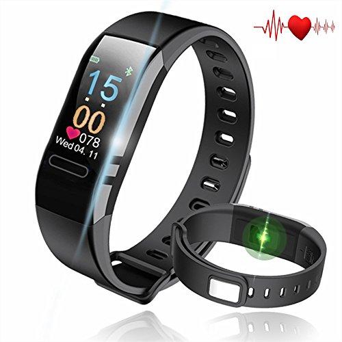 ccbe4e3a12 最新版 スマートブレスレット スマートウォッチ 血圧計 心拍計 歩数計 睡眠検測 腕時計