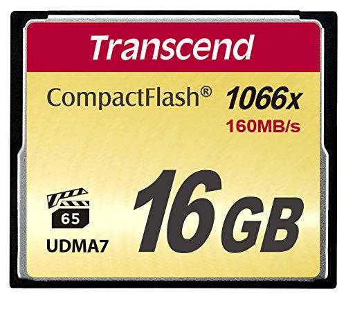 Transcend 1000倍速CFカード 16GB TS16GCF1000