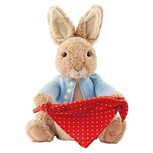 Plushy Peter Rabbit Peek-a-boo MA