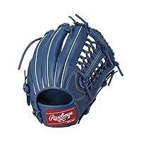 Rawlings(ローリングス) 少年軟式 グローブ ジュニア 新ボール 対応モデル HYPER TECH DP オールレザー[オールラウンド用] GJ8HT112 ロイヤル [サイズ L] [11 1/4inch] LH(Right hand throw)※右投用
