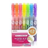 ゼブラ 蛍光ペン オプテックス1 EZ 7色 WKS11-7C