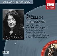 Piano Concerto / Fantasiestucke Op 12 by Schumann (2007-08-02)