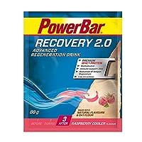 パワーバーリカバリードリンク2.0、88 g、ラズベリークーラー