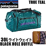 Patagonia ダッフルバッグ PATAGONIA パタゴニア ダッフルバッグ LIGHT WEIGHT BLACKHOLE DUFFLE 30L TRUE TEAL 49070 ライトウェイトブラックホールダッフル  バックパック・リュックサック