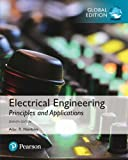 Cover of Electrical Engineering: Principles & Applications, Global Edition