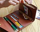 パスポートケース 旅行用 航空券 セキュリティ カードケース