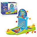 Board Game Ball Shooting Game, PinSpace 2018 Ball Shooting Travel Game for Kids Adults Party Family Game, Idea Gift for Kids 3 Years and Up 並行輸入品