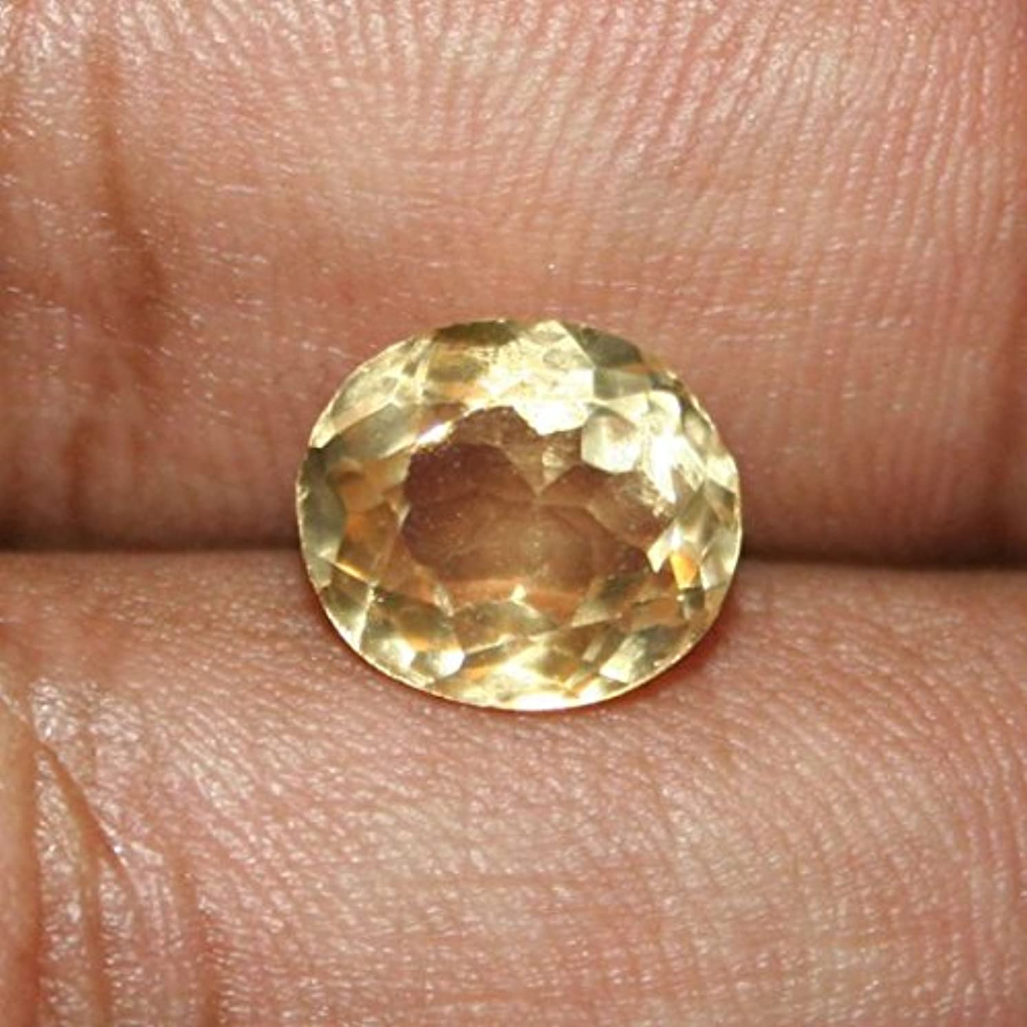 リスナー戦争ヒギンズシトリン原石Certified Natural sunelaストーン8.8カラットby gemselect