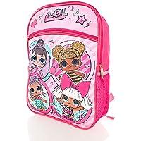 """LOL Surprise Girls Large 16"""" Backpack Racksack Bag - for School Holidays or Book Bag"""