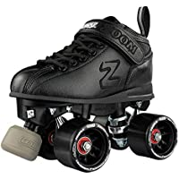 Crazy Skates Zoom Roller Skates - High Performance Speed Skate - Black