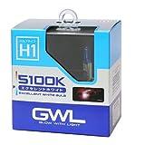 ミラリード(MIRAREED) ハロゲンバルブ GWL エクセレントホワイトバルブ H1 5100K 【車検対応】 HIDクラスの輝きと白さ S1411