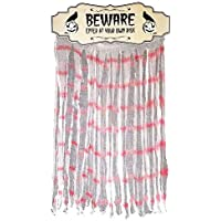 Key Largo Traders ハロウィンサイン - Beware フロントドアカーテンハンガー 装飾カバー&装飾用