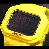 リーバイス ≪LEVIS≫リーバイス デジタル ラバーベルトウォッチ ユニセックス 【LTB1301 LTB1302 LTB1303】 (LTB1302(イエロー))