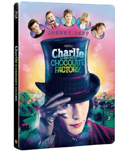 【数量限定生産】チャーリーとチョコレート工場 ブルーレイ版スチールブック仕様 [Blu-ray]の詳細を見る