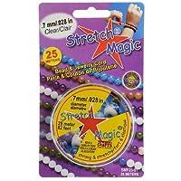 Stretch Magic  クリア ストレッチコード  0.7mm幅/25m