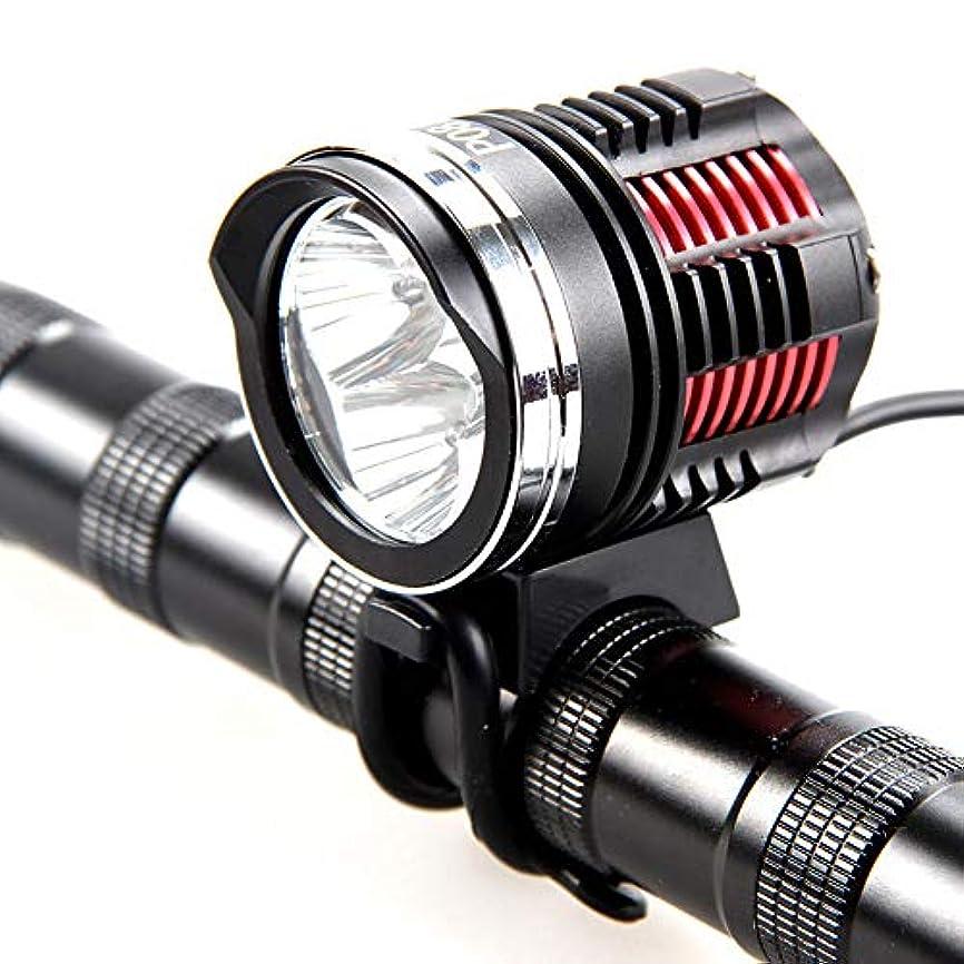 素朴な容疑者ハロウィン自転車用ヘッドライト自転車用フラッシュライトとして使用するためのUSB充電ライト 201