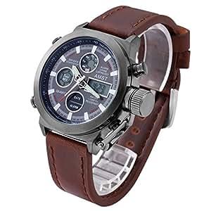 Amst 腕時計 レーシング スポーツ アウトドア ミリタリー メンズ 人気 ファション 多機能