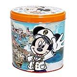 ミッキーマウス 缶入りチョコレートクランチ オーバー・ザ・ウェイブ ミルクチョコレートクランチ お菓子 【東京ディズニーシー限定】