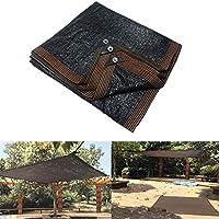 日よけネット、8ピン85%遮光率日焼け止めネット/黒環境に優しい無味カーガーデンバルコニー屋根断熱材シェードネット (Size : 4*4m)