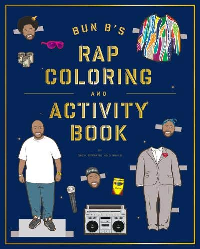 Download Bun B's Rapper Coloring and Activity Book 1419710419